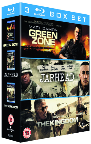 Green Zone/Jarhead/The Kingdom (2010) (Blu-ray) (Box Set) (Pulled)