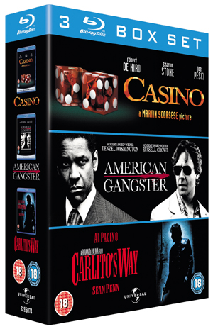 American Gangster/Casino/Carlito's Way (2007) (Blu-ray) (Box Set) (Pulled)