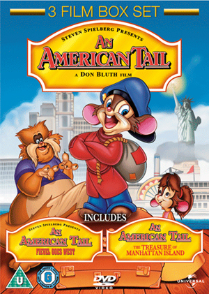 An American Tail/Fievel Goes West/An American Tail 3 (1998) (Box Set) (Deleted)