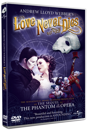 Andrew Lloyd Webber's Love Never Dies (2011) (Retail / Rental)