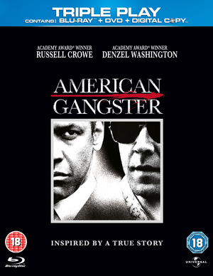 American Gangster (2007) (Blu-ray) (+ DVD and Digital Copy - Triple Play) (Retail Only)