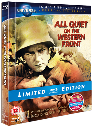All Quiet On the Western Front (1930) (Blu-ray) (Limited Edition with Book) (Retail / Rental)