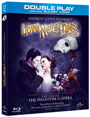 Andrew Lloyd Webber's Love Never Dies (2011) (Blu-ray) (with DVD - Double Play) (Retail / Rental)