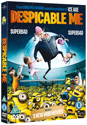 Despicable Me (2010) (Lenticular Sleeve) (Deleted)