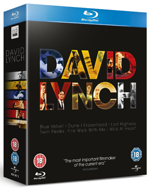 David Lynch: Collection (1997) (Blu-ray) (Box Set) (Deleted)