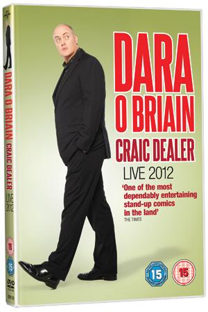 Dara O'Briain: Craic Dealer - Live 2012 (2012) (Retail / Rental)