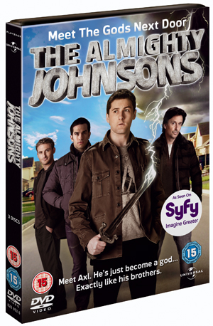 The Almighty Johnsons: Series 1 (2011) (Retail / Rental)