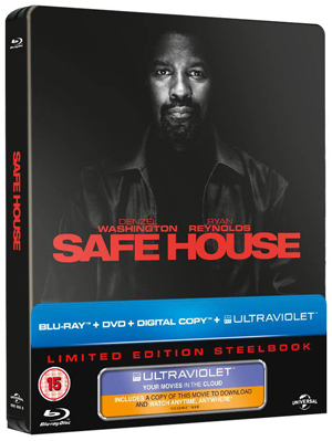 Safe House (2012) (Blu-ray) (Steel Book + DVD and UltraViolet Digital Copy) (Retail Only)