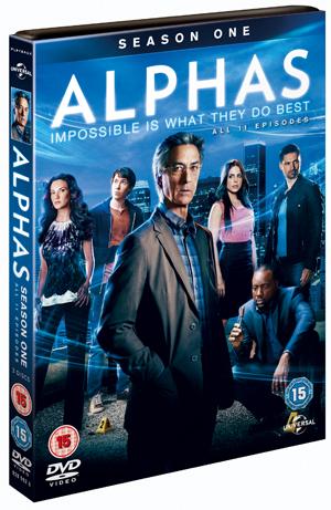 Alphas: Season 1 (2011) (Box Set) (Retail / Rental)