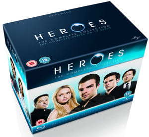 Heroes: The Complete Collection (2010) (Blu-ray) (Box Set) (Retail Only)