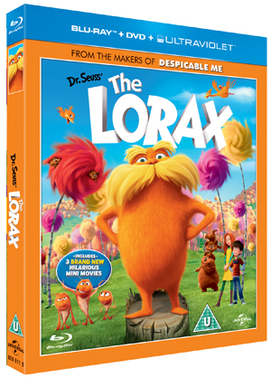 The Lorax (2012) (Blu-ray) (+ DVD and UltraViolet Copy - Triple Play) (Deleted)