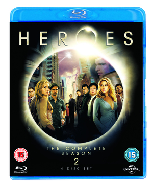 Heroes: Season 2 (2008) (Blu-ray) (Box Set) (Retail / Rental)