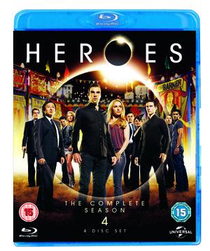 Heroes: Season 4 (2010) (Blu-ray) (Box Set) (Retail / Rental)