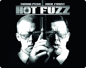 Hot Fuzz (2007) (Blu-ray) (Steel Book) (Deleted)