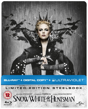 Snow White and the Huntsman (2012) (Blu-ray) (Steel Book + UltraViolet Copy and Digital Copy) (Deleted)