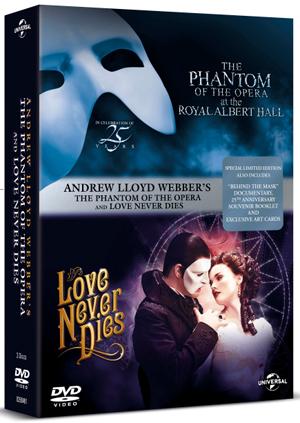 Andrew Lloyd Webber's the Phantom of the Opera/Love Never Dies (2011) (Deleted)