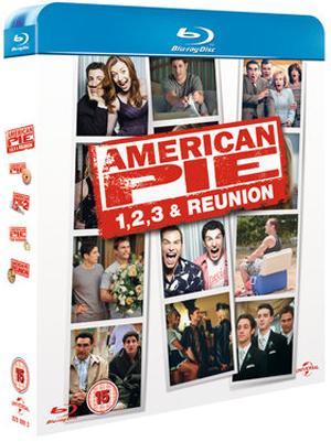 American Pie/American Pie 2/American Pie: The Wedding/American... (2012) (Blu-ray) (Box Set) (Retail Only)