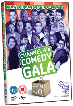 Channel 4's Comedy Gala 2012 (2012) (Retail / Rental)