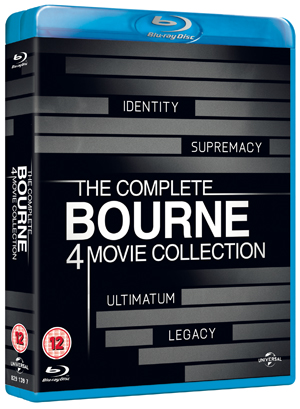 The Bourne Collection (2012) (Blu-ray) (Box Set) (Deleted)