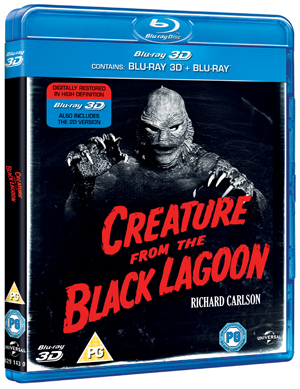 Creature from the Black Lagoon (1954) (Blu-ray) (3D Edition with 2D Edition) (Deleted)