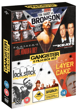 British Gangster Collection (2009) (Box Set (Slimline Version)) (Deleted)