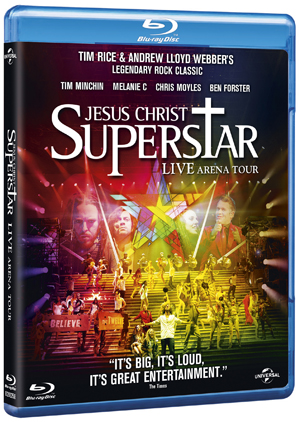 Jesus Christ Superstar - Live Arena Tour 2012 (2012) (Blu-ray) (Retail / Rental)