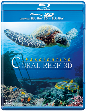 Fascination: Coral Reef 3D (2012) (Blu-ray) (3D Edition with 2D Edition) (Retail Only)