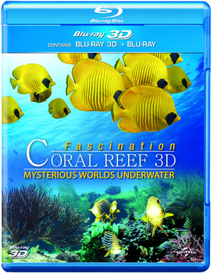 Coral Reef 3D: Mysterious Worlds Underwater (2012) (Blu-ray) (3D Edition with 2D Edition) (Retail Only)
