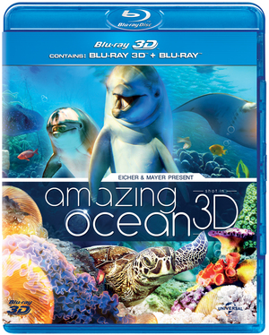 Amazing Ocean 3D (2012) (Blu-ray) (3D Edition with 2D Edition) (Retail Only)