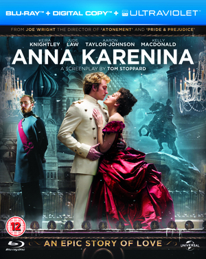 Anna Karenina (2012) (Blu-ray) (+ UltraViolet Copy and Digital Copy) (Retail Only)