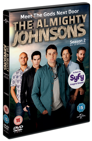 The Almighty Johnsons: Series 2 (2012) (Box Set) (Retail / Rental)