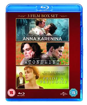 Anna Karenina/Atonement/Pride and Prejudice (2012) (Blu-ray) (Box Set) (Deleted)