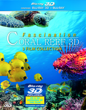 Coral Reef 3D Collection (2012) (Blu-ray) (3D Edition with 2D Edition) (Retail Only)