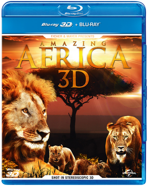Amazing Africa 3D (2012) (Blu-ray) (3D Edition with 2D Edition) (Retail Only)