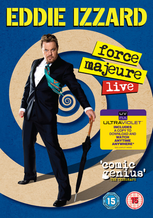 Eddie Izzard: Force Majeure - Live (2013) (Retail / Rental)