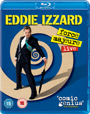 Eddie Izzard: Force Majeure - Live (2013) (Blu-ray) (Retail / Rental)