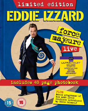 Eddie Izzard: Force Majeure - Live (2013) (Limited Edition Digibook) (Retail Only)