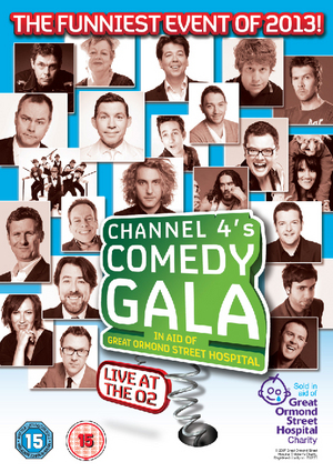 Channel 4's Comedy Gala 2013 (2013) (Retail / Rental)