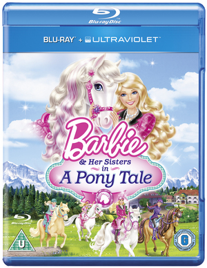 Barbie and Her Sisters in a Pony Tale (2013) (Blu-ray) (with UltraViolet Copy) (Retail Only)