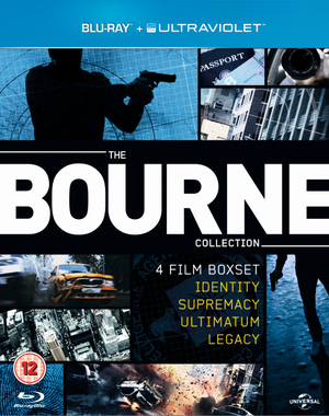 The Bourne Collection (2012) (Blu-ray) (Box Set) (Retail Only)