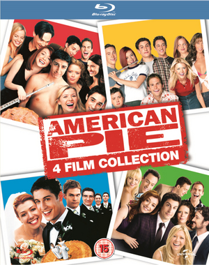 American Pie/American Pie 2/American Pie: The Wedding/American... (2012) (Blu-ray) (Box Set) (Retail Only)