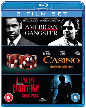 American Gangster/Casino/Carlito's Way (2007) (Blu-ray) (Box Set) (Deleted)