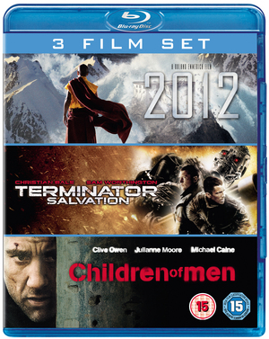 2012/Terminator Salvation/Children of Men (2009) (Blu-ray) (Box Set) (Pulled)