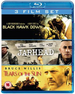 Black Hawk Down/Jarhead/Tears of the Sun (2005) (Blu-ray) (Box Set) (Pulled)
