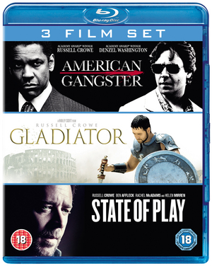 American Gangster/Gladiator/State of Play (2009) (Blu-ray) (Box Set) (Retail Only)