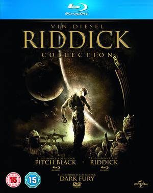 Pitch Black/Chronicles of Riddick/Dark Fury - The Chronicles... (2004) (Blu-ray) (Box Set) (Retail / Rental)
