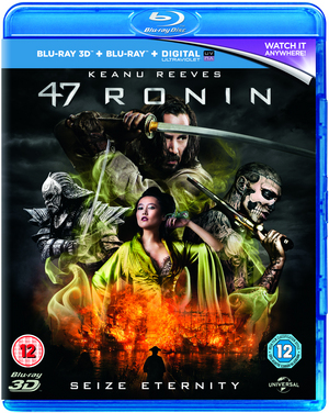 47 Ronin (2013) (Blu-ray) (3D Edition with 2D Edition + UltraViolet Copy) (Retail Only)