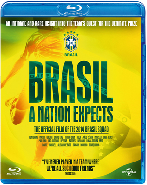 Brasil - A Nation Expects (2014) (Blu-ray) (Retail / Rental)