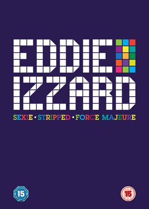 Eddie Izzard: Sexie/Stripped/Force Majeure (2014) (Retail Only)