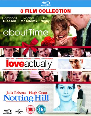 About Time/Love Actually/Notting Hill (2013) (Blu-ray) (Box Set) (Retail Only)
